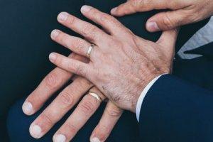 男性同士の結婚指輪